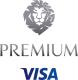 Premium Visa logo